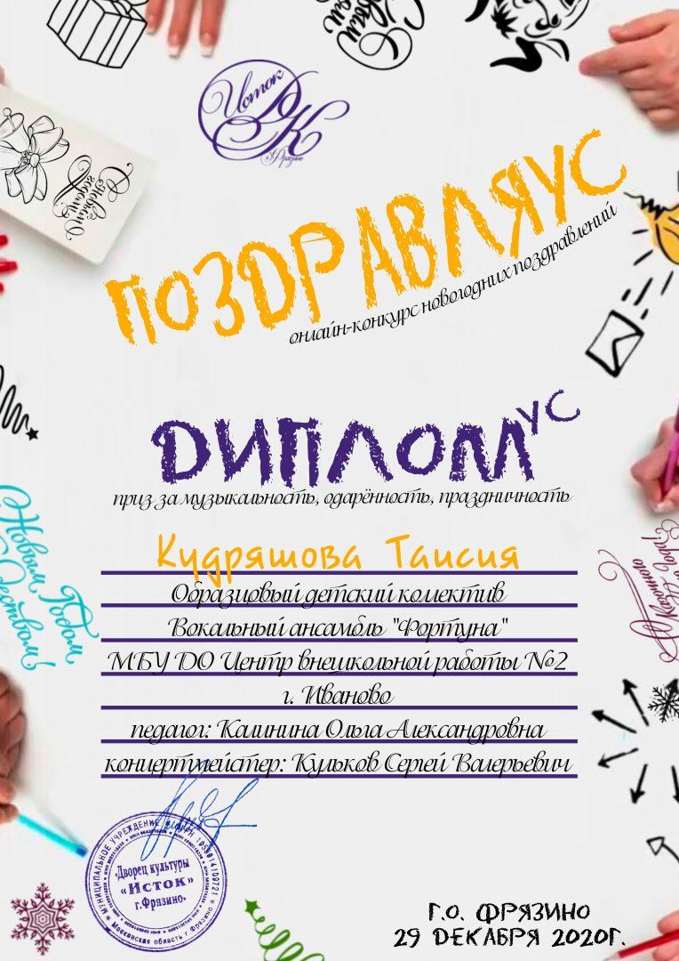 Диплом - Кудряшова