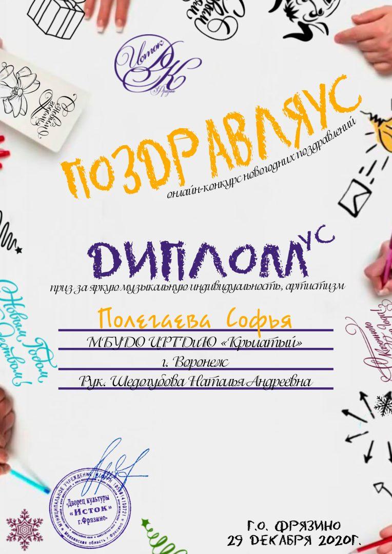 Диплом - Полегаева