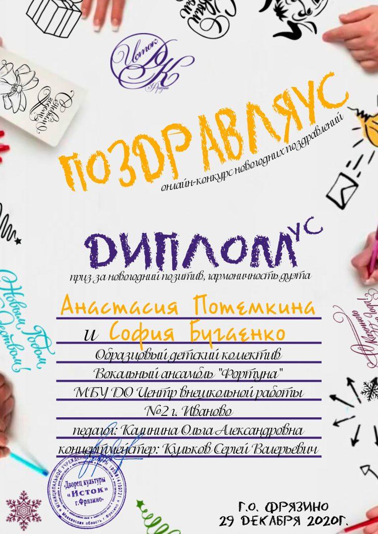 Диплом - Потемкина Бугаенко